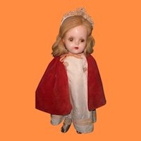 "Factory Princess Elizabeth 15"" Composition Doll by Madame Alexander ~ Compltete"