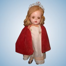 "Factory Princess Elizabeth 15"" Composition Doll by Madame Alexander ~ Compltete"
