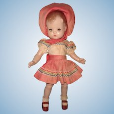 Effanbee Factory Original Patsy Joan Composition Doll ~ 2nd Version