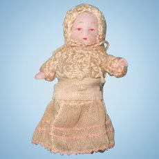Adorable Teenie Tiny German Bisque Baby Doll ~ SOOO Cute!