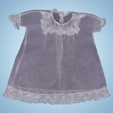 """Effanbee Dy-Dee Baby Type Gown for 15"""" Baby Doll"""
