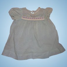 """Sweet Factory Dress for 20"""" Dy-Dee or Tiny Tears or Betsy Westy Large Baby Doll"""