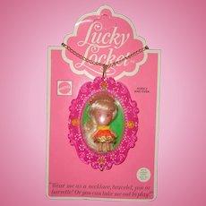 Mattel Little Kiddle Laverne Locket Doll Mint On Card ~ Gift Giving Cond.
