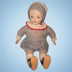 Early Factory Original Ideal Composition Baby Doll