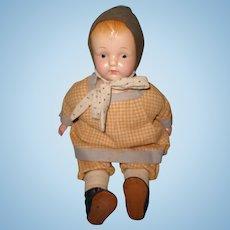 "Early Effanbee 17"" Composition Mama Doll"