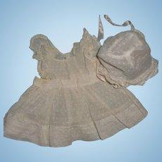 """Authentic Effanbee Dy-Dee 2 Pc Outfit for 15"""" Baby Doll"""