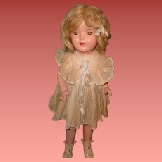 """Very Pretty Factory Original 20"""" Composition Walking Doll"""
