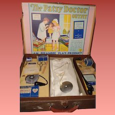 Effanbee RARE Patsy DOCTOR Play Set w/ Surgeons Coat and Accessories ~ Complete