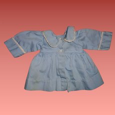 """Authentic Effanbee Dy-Dee Blue Twill Coat for 20"""" Baby Doll"""