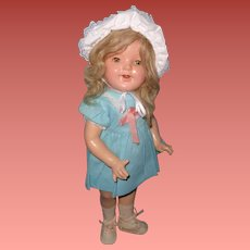 """Pretty 18"""" All Composition Girl Doll"""