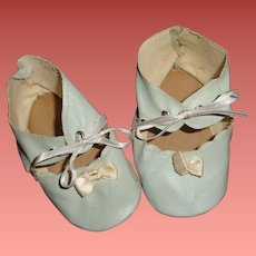 Nice Oil Cloth Shoes for Larger Composition or Bisque Doll
