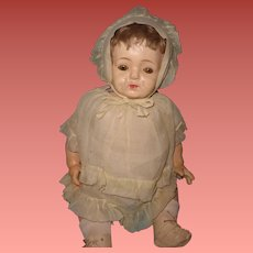 """Nice 24"""" Large Factory Original Composition Baby Doll"""