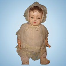 "Nice 24"" Large Factory Original Composition Baby Doll"