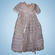 """Authentic Effanbee Dy-Dee Long Baby Gown for 11"""" Doll"""