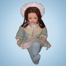 Sweet Early Effanbee Composition Mama Doll