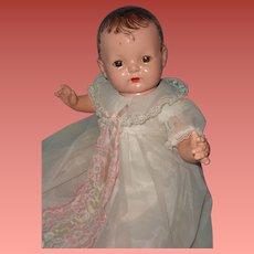 """Effanbee Sugar Baby 18"""" Composition Doll ~ adorable"""