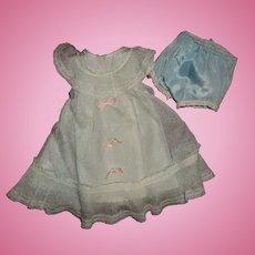 "Authentic Madame Alexander Princess Elizabeth Gown for 15"" Composition Doll"