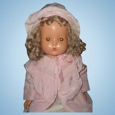 "Effanbee 30"" Patsy Mae Composition Mama Doll"