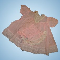 """Effanbee Dy-Dee Lou Dress and Bonnet for 20"""" Doll"""