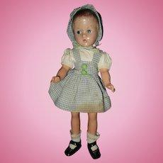 "Effanbee 11"" Suzette Composition Doll"
