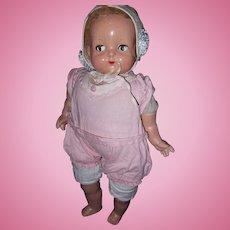 Effanbee Flirty Eye Composition baby Doll