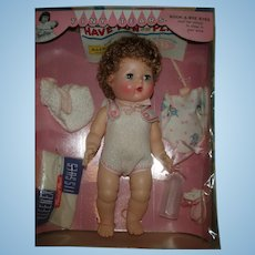 Factory ORIG NM Tiny Tears Doll Complete In Box and Unplayed with