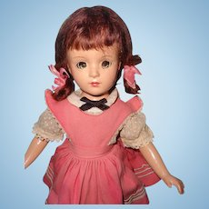 "Darling 14"" Factory Orig. Margaret O'Brien Composition Doll ~ MadameAlexander"