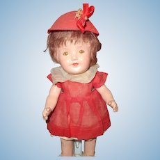 Adorable dime store Factory Original Composition doll