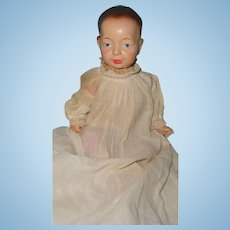 Early Kaiser Face Composition Baby Doll ~ Sawdust filled