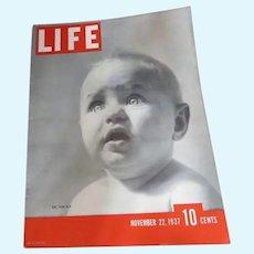 Effanbee Dy-Dee Baby in Life Magazine 1937