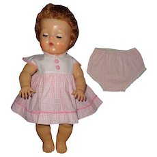 """Authentic Tiny Tears Dress for 13"""" Baby Doll"""