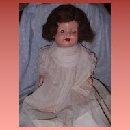 "Effanbee 21"" wigged Lovums Composition Baby Doll"