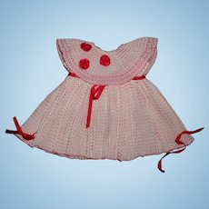 """Beautiful Dress for 20"""" Shirley Temple Composition Doll"""