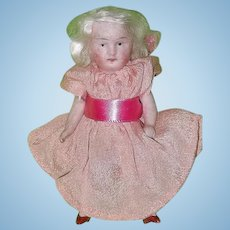 Darling Tiny All Bisque German Doll