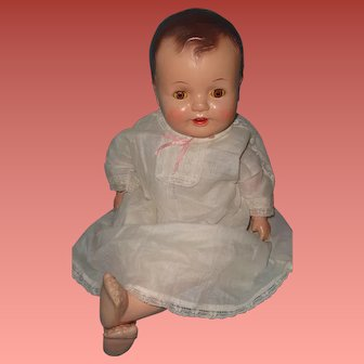 """Adorable Composition Baby Doll ~ 24"""""""