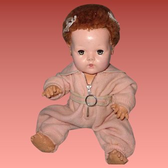 """Authentic Effanbee Dy-Dee  Snowsuit for 15"""" Baby Doll"""