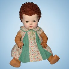 """Early Tiny Tears 15"""" Baby Doll by American Character"""