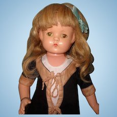 "Gorgeous  22"" Wigged Patsy Lou Composition Doll by Effanbee"