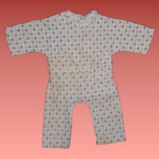 """Effanbee Dy-Dee Lou Baby 20"""" Pajamas ~ Authentic"""