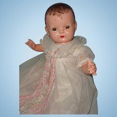 "Effanbee Sugar Baby 18"" Composition Doll ~ adorable"