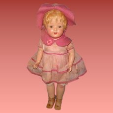 Factory Original Madame Hendren Composition Doll ~ Lenci like ~ Tagged