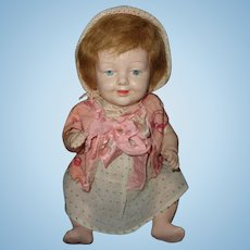 Early Spring Jointed Composition Baby Doll ~Cutie