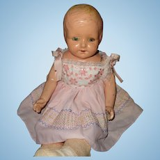 Beautiful Molded Hair Composition Baby Doll