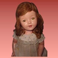 "Factory Original 25"" Composition Mama Doll"