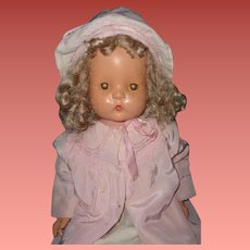 "Effanbee 30"" Patsy Mae Composition Mama Doll"