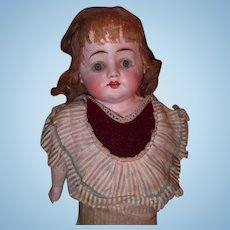 Early Biscaloid Factory Orig. German Doll w/Box