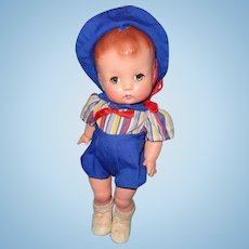 Effanbee Factory Original Candy Kid Composition Doll ~ Boy