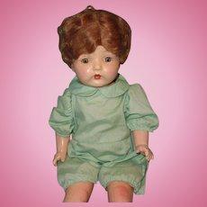 "Very Pretty 25"" Composition Mama Doll"