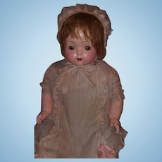 "Effanbee Factory Original 27"" Composition Mama Doll ~ WOW"