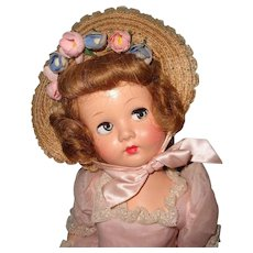 Factory Original Effanbee Honey Composition Doll ~ Flirty Eye Beauty
